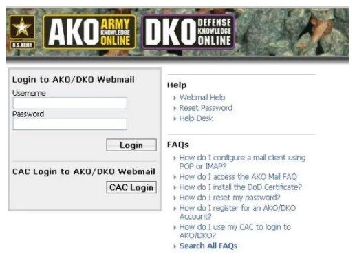 Why Can't I Log into AKO from My Home Computer